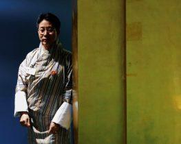 Bhutan's Foreign Minister Damcho Dorji addresses the United Nations General Assembly in the Manhattan borough of New York. (Photo: Reuters/Eduardo Munoz).