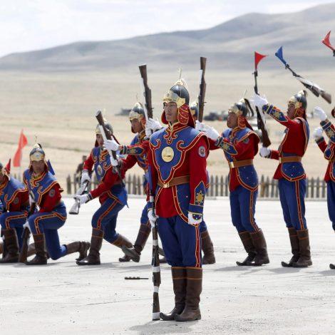 Mongolia's mighty military diplomacy