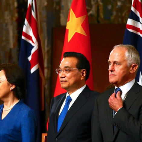 Australia's place in the new world order