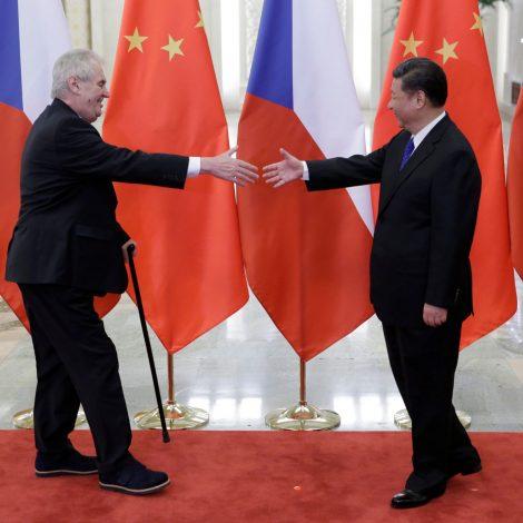 Do the Central European media show caution towards China?