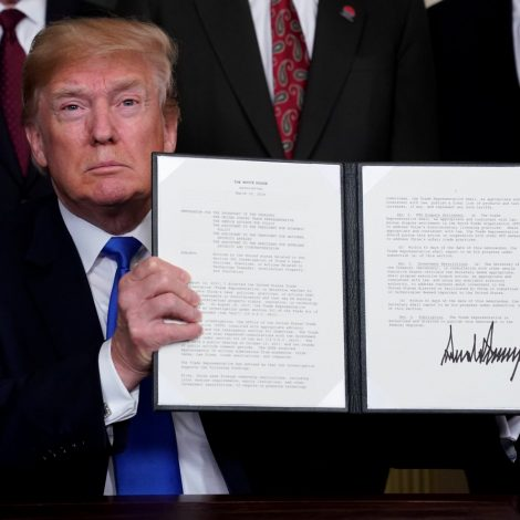 Trump's tariffs a call to arms for global community