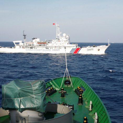 Coast guard competition could cause conflict in the South China Sea