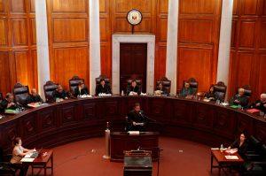 An en-banc session at the Supreme Court in Manila, Philippines, 19 June 2018 (Photo: Reuters/Erik De Castro).