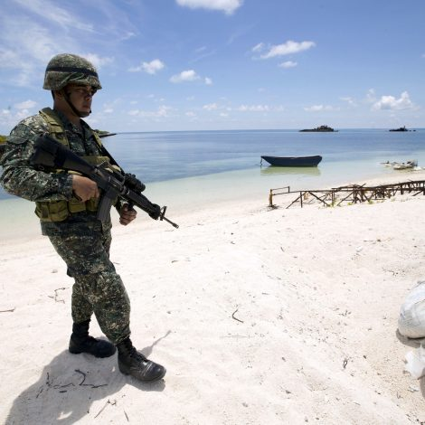 The standoff at Sandy Cay in the South China Sea