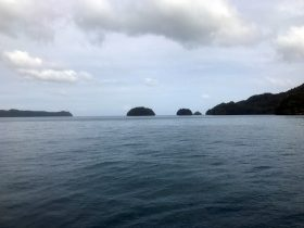 A view of the Rock Islands of Palau. Picture taken 5 August 2018. (Photo: REUTERS/Farah Master)