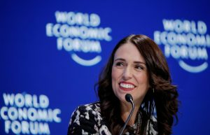 New Zealand's Prime Minister Jacinda Ardern smiles as she attends the World Economic Forum (WEF) annual meeting in Davos, Switzerland, 22 January 2019. (Photo: Reuters/Arnd Wiegmann).