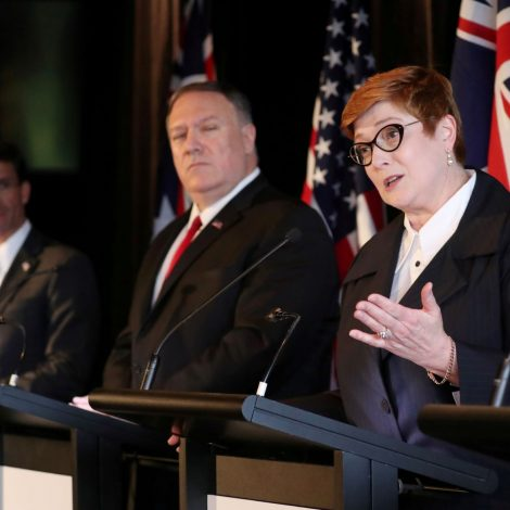 Australia's vision of leadership in the Indo-Pacific
