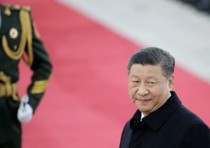 Chinese President Xi Jinping attends a welcoming ceremony at the Great Hall of the People in Beijing, China, 25 October, 2019 (Photo: Reuters/Lee).