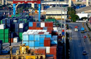 Stacks of containers are seen at Tanjung Priok port amid the coronavirus disease (COVID-19) outbreak in Jakarta, Indonesia, 3 August 2020 (Photo: Reuters/Ajeng Dinar Ulfiana).